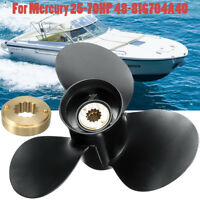 10 1/2 x13 For Mercury Engine 25-70HP 48-816704A40 Aluminum Outboard Propeller