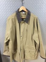 Mens NEW Canvas Work / Hunting Barn Jacket ~ Coat size Large