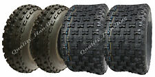 Set of four Slasher quad tyres 21x7-10 /20x10-9  Wanda Race road legal E marked