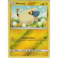 Pokemon TCG: Mareep - 76/214 - Common Reverse Holo Card -Sun & Moon Lost Thunder