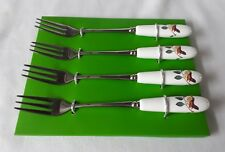 Portmeirion Enchanted Tree Pasty Forks x 4 - NEW & UNUSED