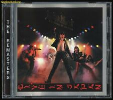 Judas Priest silver foil logo Unleashed In The East CD OOP 2001 UK remaster live
