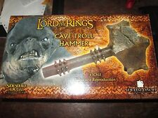 Sideshow Collectibles Lord of the Rings Cave Troll Hammer 2003 1/6 Scale Replica