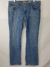 Womens OND Old Navy Denim Ultra Low Waist Boot Cut Jeans Size 12  W36 L31