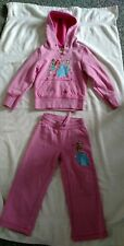 Disney Princesses Sweat Suit, Youth Size 4, Pink, Hoodie and Sweat Pants,