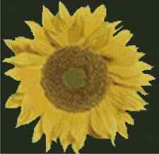 Sunflower Counted Cross Stitch Complete Kit #20-118 )