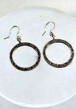 Thai Silver Earring Nepal India Tibet Mexican Handmade by Hill tribe community