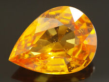 NATURAL MINE - PEAR RICH YELLOW SAPPHIRE 1.65 CT.
