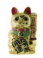Enorme Hucha Gato Prosperidad Japonés Maneki Neko B