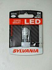 Sylvania Zevo Super Bright White 194 2825/168 LED 12v 1.0W -1 Bulb