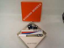 Winross Helms/Byrns Express White 9000 Tractor w White Trailer Vgc in box 1983