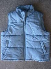 Warm STITCH TREND Light Sky Blue Poly Down-Filled Vest - XL / Extra Large