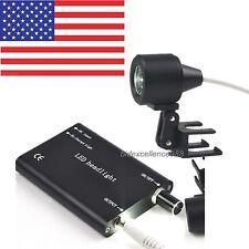 USA Portable Black LED Head Light Headlamp for Dental Medical Binocular Loupe