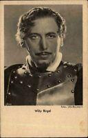 Schauspieler Kino Film V.: ROSS ~1930 Porträt-AK WILLY BIRGEL Foto Ufa-Baumann