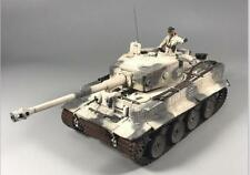 "Forces of Valor 1:32 German Tiger I Tank 502 ""Mammoth"" Camp with Snow Camouflage"