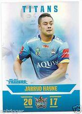 2017 NRL Traders Parallel Special (PS043) Jarryd HAYNE Titans