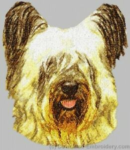 Embroidered Long-Sleeved T-Shirt - Skye Terrier DLE2523