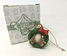 Fitz & Floyd Charming Tails Into The Swing Of The Season Ornament 86/136 w/ Box