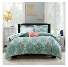 Mainstays Monique Paisley Bed in a Bag Comforter Set Full