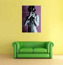 Sexy Erotic Gas Mask Babe Giant XXL Poster Art Print