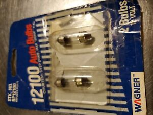 Wagner Lighting BP12100 Dome Light Bulb Rear. Stain on rear package. New........