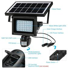Waterproof Solar Power Outdoor Security DVR Camera With Night Vision