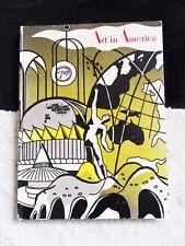 Art in America. Vol.52, No. Two, April 1964. Roy Lichtenstein Cover Art Volume