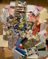 HUGE MIXED CRAFTING KIT SCRAPBOOKING BIRTHDAY INVITE CHRISTMAS SPECIAL OCCASION