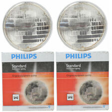 Two Philips Standard Sealed Beam Light Bulb H5006C1 for H5006 PAR-46 12.8V kn
