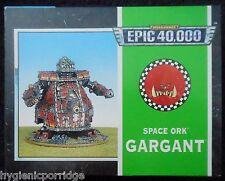 1997 Epic ORK gargant GAMES WORKSHOP WARHAMMER 6mm ORC SUPER PESANTE WALKER MIB GW