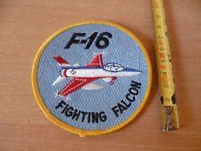 (E27) ECUSSON PATCH USA ARMY   F-16  FIGHTING FALCON