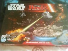 HASBRO  RISK STAR WARS THE REIMAGINED GALACTIC RISK . THE GAME IS COMPLETE