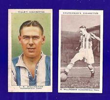 Huddersfield TOWN FC Terriers-Cani sciolti KEN WILLINGHAM Sunderland LEEDS ENGLAND 1935 Scheda