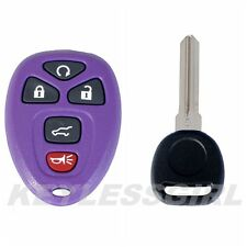 New Purple Keyless Entry Remote Start Fob Clicker Control Power 15913415 +46 Key