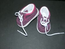 American Girl Doll Skateboard Outfit I Shoes ONLY Replacement Sneakers Retired