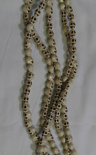 Howlite White Loose Beads Carved Skulls 9mm x 7mm