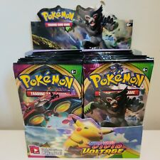 10 VIVID VOLTAGE Booster Pack Lot - Factory Sealed Packs From Box Pokemon Cards