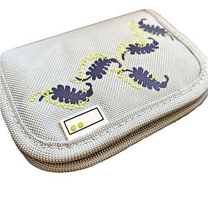 Aha Botanicals Purple Storage Wallet For Memory Cards Folder SD Compact Flash