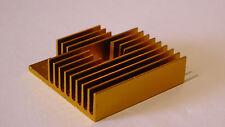 GOLD Dissipatore di calore aggiornamento mk8 Extruder 40 x 40 x 10mm, CTC, Prusa stampante 3D parte