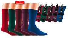 Herren-Socken, Trendfarben, Pique-Rand, Modefarben
