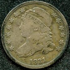 1831 (VG) 10C SILVER CAPPED BUST DIME