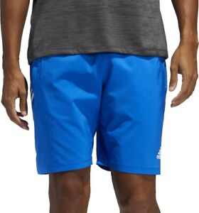 adidas 4KRFT 3 Stripe 9 Inch Mens Training Shorts - Blue