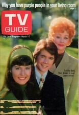 1969 TV Guide March 1 - Lucille Ball; Dean Martin; Otis Young; Jacquie Wiseman