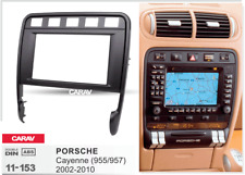 CARAV 11-153 Car Radio Fascia FacIa Panel Frame For PORSCHE Cayenne Turbo  2DIN