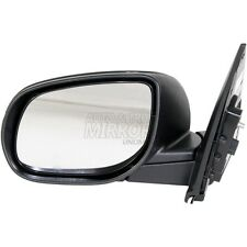 Fits Forte 10-10 Driver Side Mirror Replacement - Sedan - With Signal Lamp