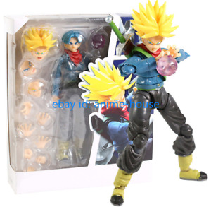 S.H. Figuarts Super Saiyan Dragon Ball Z Trunks PVC Action Figure New