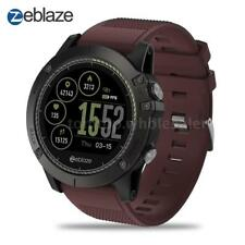 Zeblaze VIBE3 HR Wristwatch Smart Watch Phone Alarm Waterproof Camera Red V3M6