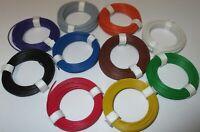 [12,9ct/m] Kupfer Schaltdraht  0,5mm - Ringe je 10 Meter > Auswahl