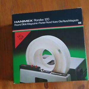 HANIMEX RONDEX 120 ROUND SLIDE MAGAZINE BOXED