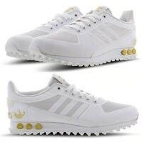 "Adidas LA Trainer ""White-Metallic Gold-W"" Men's Trainers All Sizes Limited Stock"